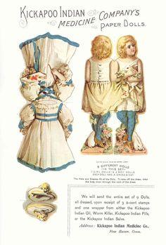 Unas Paper Dolls muy comerciales