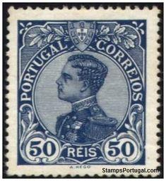 Selos - Afinsa nr 162 - Scott nr 162. -  D. Manuel II