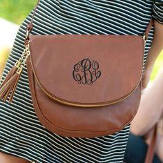 Tassel Bag  rossbody Handbag  Crossbody  Brown Crossbody