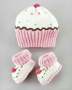Bonnet chausson bébé exemple