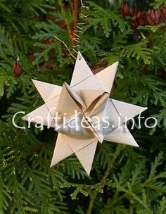 This Froebel paper star looks cool - can't wait until the girls are old enough to try it.