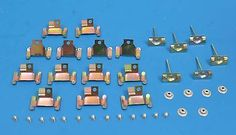 1959 - 1960 #chevy windshield #molding clip set, #upper & lower clips 59 60 new,  View more on the LINK: http://www.zeppy.io/product/gb/2/350927249594/
