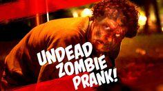 UNCENSORED Undead Zombie Prank - viewer discretion is advised Scary Prank Videos, Scary Pranks, Zombie Prank