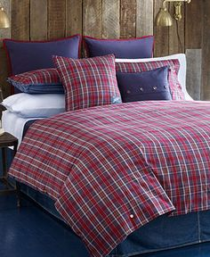 Tommy Hilfiger Bedding, Bear Mountain Comforter and Duvet Cover Sets - Tommy Hilfiger - Bed & Bath - Macy's