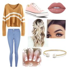 """""""At home chilling"""" by olivia-186 on Polyvore featuring interior, interiors, interior design, home, home decor, interior decorating, New Look, Converse, Lime Crime and David Yurman"""