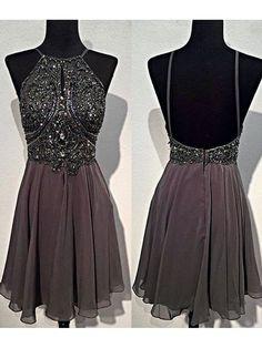 Short Beaded Prom Homecoming Graduation Dresses 99602767