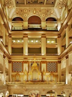 pipe organs of the world | Wanamakers Pipe Organ. World's largest. | The Pipe Organ, The King Of ...