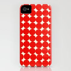 Light_Red - iPhone Case by Garima Dhawan