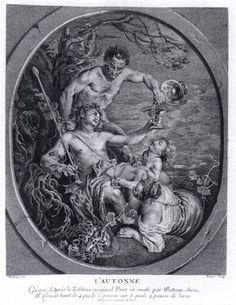 FESSARD, Etienne Autumn c. 1740