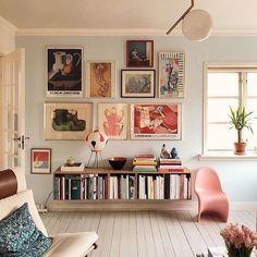 Stunning Living Room Wall Decor Ideas Wohnzimmer Deko Ideen, Wandkunst, Wanddekore, moderner Stil, I Room Wall Decor, Living Room Decor, Living Spaces, Bedroom Decor, Bedroom Furniture, Furniture Plans, Room Art, Furniture Stores, Kids Furniture