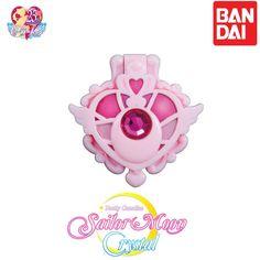 GASHAPON BANDAI Sailor Moon Stained Glass Compact Mirror Crisis Moon. #Bandai