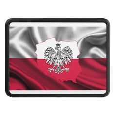 3/'/' 5/'/' or 6/'/' Poland Waving Flag Sketch Car Bumper Sticker Decal