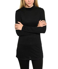 Look what I found on Black Turtleneck Sweater by The Wholesale Fashion Square Black Turtleneck, Wholesale Fashion, Black Sweaters, Snug Fit, Turtle Neck, Fabric, Shopping, Style, Tejido