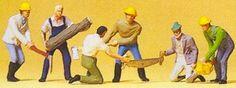 Buy the Preiser 10042 Lumber jacks from Reynauld's Euro Imports.