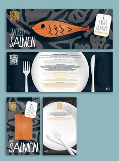 Packaging Smoked Salmon, by daliadesign.it