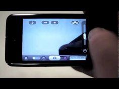 Instructies bij de App IncrediFlix, waarmee je zeer eenvoudig stop motion films kan maken.