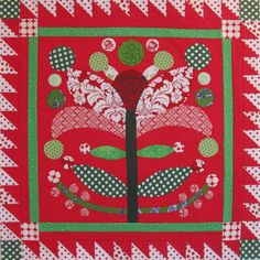Christmas wall hanging by Elizabeth Eastmond | Occasional Piece