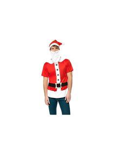 Mens Santa Instant Kit Costume | Cheap Christmas Costumes for Men