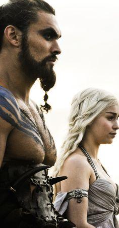 Daenerys Targaryen, Khal Drogo
