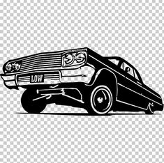 Chevrolet Impala Vintage Car Lowrider PNG - automotive design, automotive exterior, black and white, brand, buick Lowrider Drawings, Lowrider Tattoo, Arte Lowrider, Chicano Drawings, Car Drawings, Lowrider Trucks, Chevrolet Impala, Impala Car, Car Chevrolet