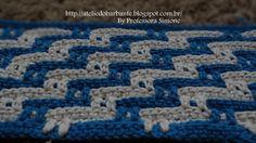 Passo a passo Ponto Fantasia em Crochê feito pela Professora Simone visite a Professora : http://ateliedobarbante.blogspot.com.br/ http://lifebabysapatinhos....