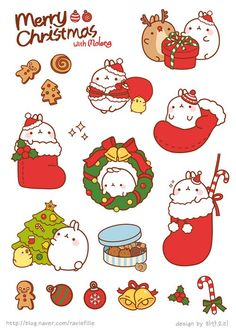 Merry Christmas ~ By Molang