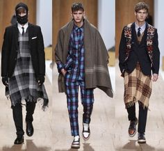 Layers and Ponchos, Warm Menswear Trends for this Fall-Winter 2011/2012 ~ Men Chic- Mens Fashion and Lifestyle Online Magazine
