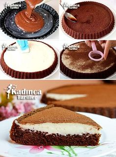 Tiramisu Tart Recipe, How To? - Womanly Recipes - Delicious, Practical and Delicious Food Recipes Site Tiramisu Tart Recipe Beef Pies, Mince Pies, Pasta Torte, Green Curry Chicken, Mousse Au Chocolat Torte, Red Wine Gravy, Flaky Pastry, Tiramisu Cake, Meringue Pie