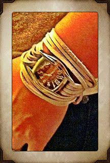 diy - leather watch