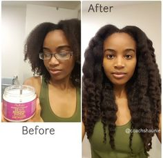 How to grow hair faster? What's the best products for hair growth for the best natural hair growth journey for long hair? growing hair is n. How To Grow Natural Hair, Long Natural Hair, Natural Hair Growth, Natural Hair Weaves, Healthy Hair Growth, Natural Hair Journey, Curly Hair Styles, Natural Hair Styles, Twisted Hair