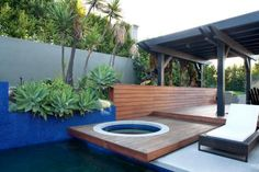 Considering installing a hot tub on your deck or patio? Get design ideas and inspiration from these beautiful outdoor retreats.