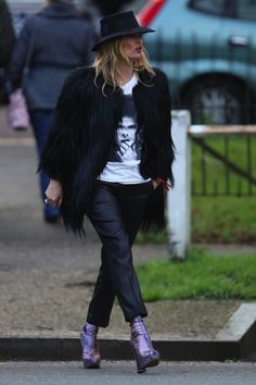 11 januari: Kate Moss - De week in beeld: week 2, 2016 - Vogue Nederland
