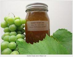 Homemade grape jam.