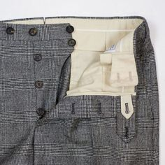 Styleforum Classic Menswear: Photo - Styleforum Classic Menswear : Photo Source by briefkaschde - Fashion Details, Look Fashion, Fashion Design, Fashion Moda, Mens Fashion, Men Trousers, Tactical Clothing, Bespoke Tailoring, Pants Pattern