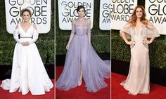 Golden Globes: Sarah Jessica Parker, Hailee Steinfeld and Drew Barrymore.-From sleeves to Frozen: five trends from the Golden Globes 2017