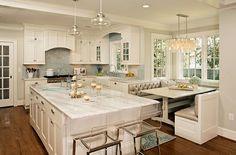 küchengestaltung traumhaft weiß küche bodenbelag