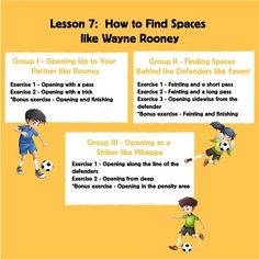 Soccer Training Program, Soccer Coaching, Training Programs, Youth Soccer, Kids Soccer, Soccer Trainer, Soccer Gifs, Messi And Ronaldo, Wayne Rooney