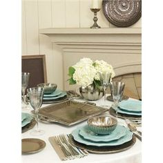 Hurry! This line of amazing table ware will be Retired at the end of 2013! Shop the Vietri Incanto Metallic Collection on belleandjune.com now!