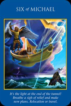 archangel michael angel card - Google Search