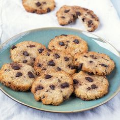 Coconut cookies with darkish chocolate Healthy Soda, Healthy Cake, Healthy Sweets, Healthy Baking, Healthy Smoothies, Healthy Drinks, Healthy Snacks, Good Food, Yummy Food