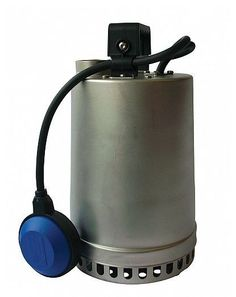 The DR STEEL 75 drainage pump is supplied with float switch, ideal for dewatering applications in cellars, basements and for emergency water extraction Emergency Water, Pond Pumps, Pond Filters, Water Garden, Fountain, Steel, Flow, Italy, Number
