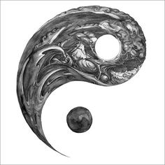 Ying yang | tattoos clues booze | Pinterest