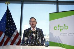 Trump-Installed Consumer Agency Head Sets Hiring Freeze, Halts New Rules   HuffPost