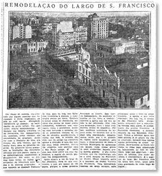 Fotos Históricas: convento demolido para a nova Faculdade de Direito - noticias - O Estado de S. Paulo - Acervo Estadão