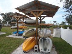 Build Kayak Storage Rack Building An Outdoor Boat Rack