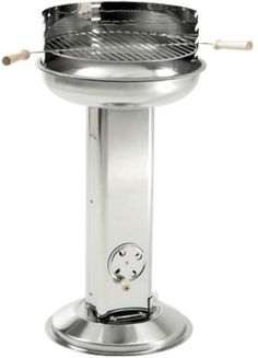 Landmann 11242 Stainless Steel Pedestal Barbecue - Landmann available at www.BBQBarbecues.co.uk