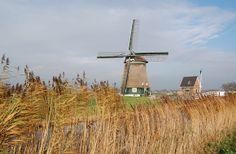 Polder mill Veenhuizer, Heerhugowaard, the Netherlands.