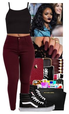 """❤️Lil Yachty~Pretty (Ft.TheGoodPerry)❤️"" by jasmine1164 ❤ liked on Polyvore featuring MAC Cosmetics and Vans"