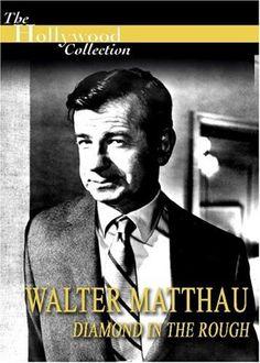 The Hollywood Collection - Walter Matthau - Diamond In The Rough [DVD] Walter Matthau, Amazon Dvd, 2020 Movies, Rough Diamond, Dvd Blu Ray, Documentaries, Hollywood, Studio, Movie Posters