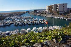 Saint-Pierre la mer le port .  Aude